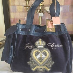 NWT Juicy couture velvet bag